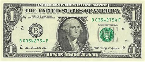 new year us dollar bill united states one dollar bill