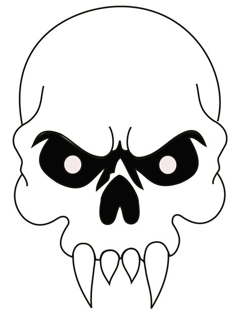 custom stencil templates evil skulls pictures cliparts co