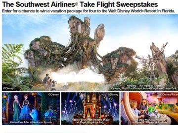 Southwest Airlines Sweepstakes - southwest airlines take flight sweepstakes