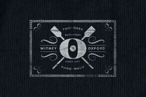 vintage clothing label design on behance