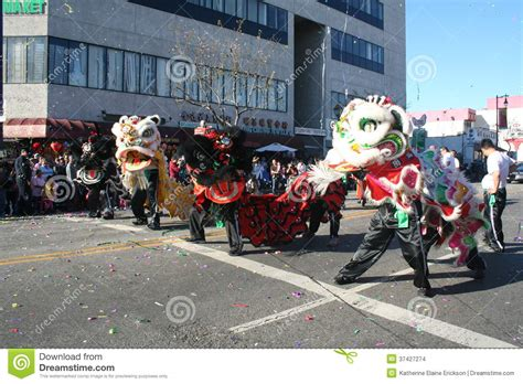 when is the new year parade in los angeles 2015 dragons editorial stock image image 37427274