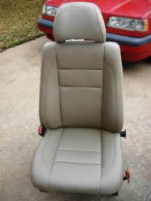 Seat Upholstery by Re Covering Leather Seats 1997 Volvo 850 Wagon Project