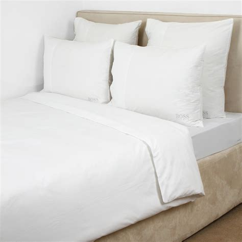 best white sheets decorate with white duvet cover