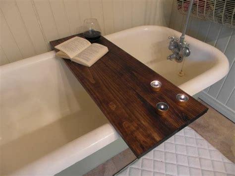 bathtub table tray custom made wood pine bathtub caddy tray tub table 2