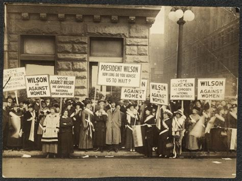 nwp members pickets wilson 1916 history by zim