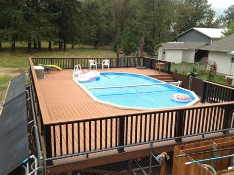 swimming pool decks above ground pool deck ideas free above ground pool deck plans ideas picture size 800x600