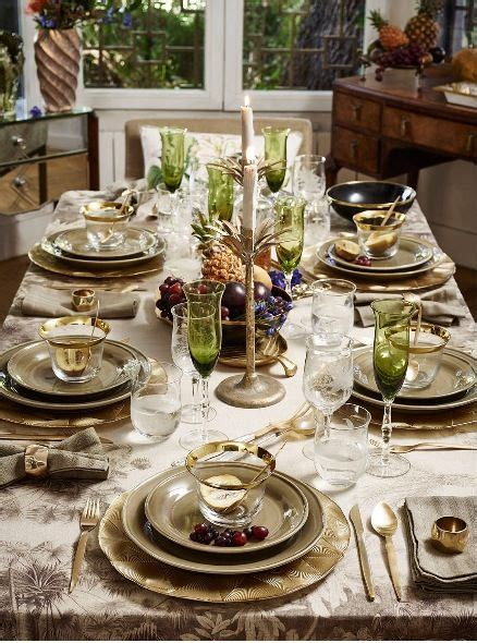 zara home tablescapes   pinterest
