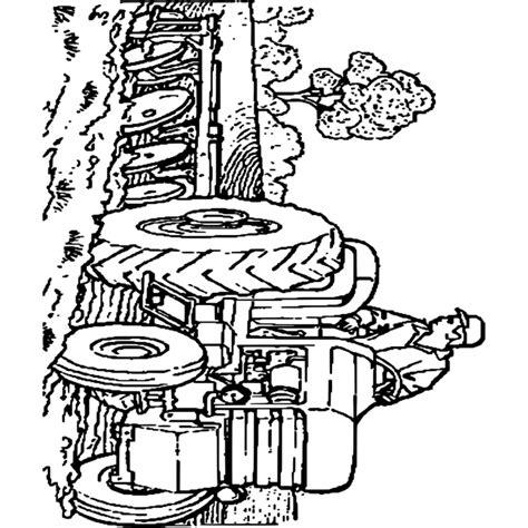 Dessins 192 Colorier Coloriage Tracteur 192 Imprimer Tracteur A Colorier Massey Ferguson L
