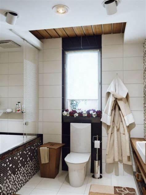 two stylish small bathroom interior designs