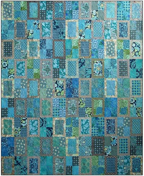 edredon diy rear window quilt pattern blue underground studios diy