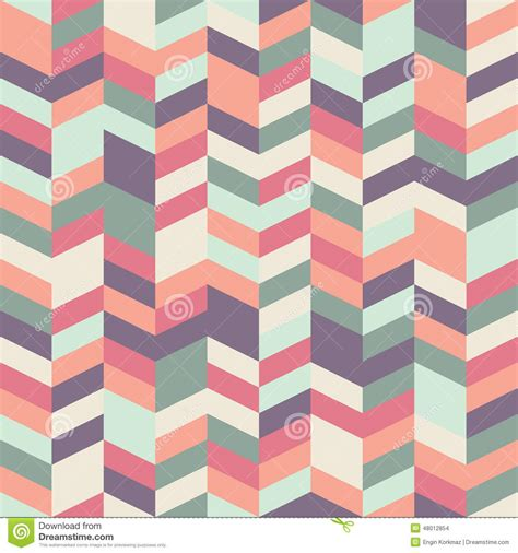 pattern color palette herringbone pattern stock vector image 48012854
