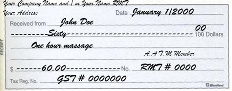 Cheque Receipt Template by Receipt Sle Doc Cheque Receipt Template House Rent