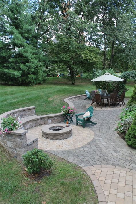 Paved Backyard Ideas 17 Best Ideas About Pit Designs On