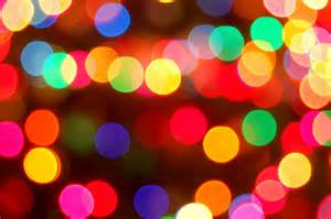 Colorful christmas lights by krissyaldous com