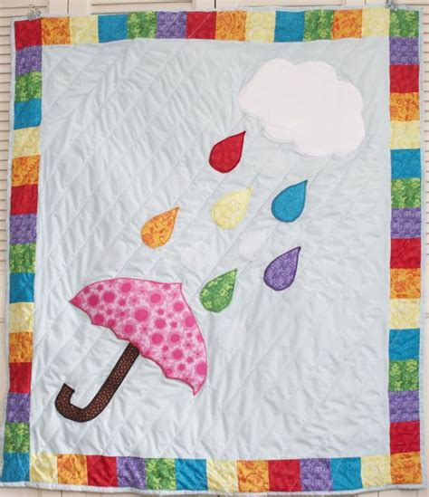 umbrella pattern sewing sew can do free project pattern the rainbow showers
