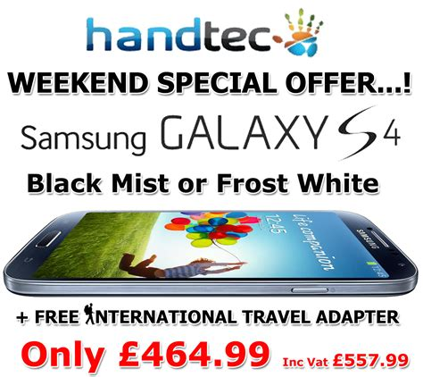 Promo Samsung S4 Termurah Terlaris weekend offer samsung galaxy s4 black and white 163 464 99