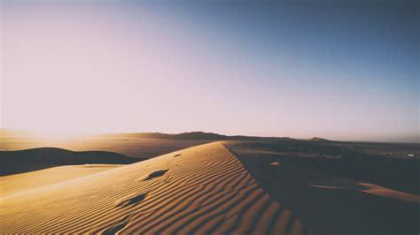 wallpaper desert sand dunes   nature