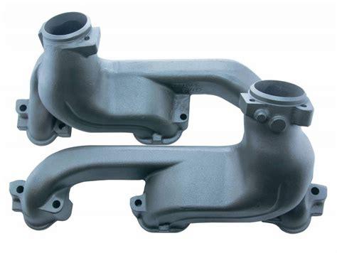 68 81 pontiac ram air exhaust manifolds 2 5 quot rpe652h