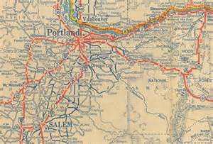 road map of oregon my