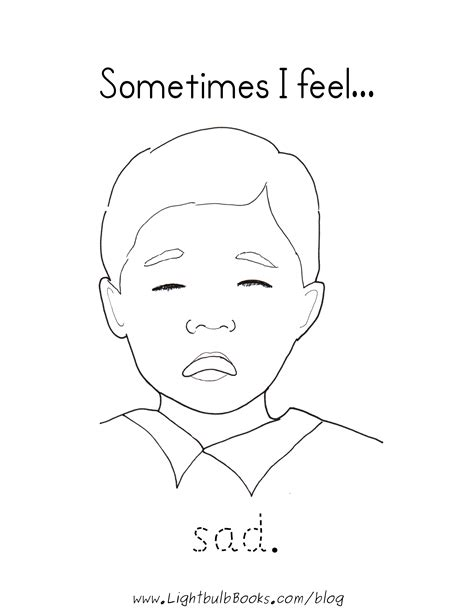 Sad Face Coloring Page Coloring Home Sad Coloring Page