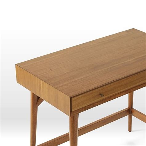 Mini Desk by Mid Century Mini Desk Acorn West Elm