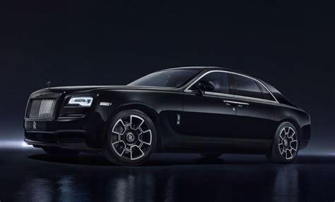 rolls royce black badge editions unveiled in geneva