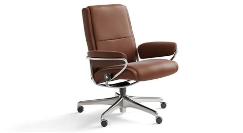 Stressless Office Chair by Circle Furniture Lowback Office Chair