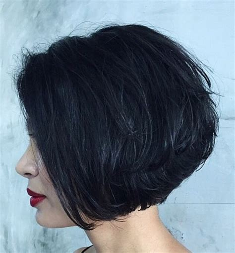chin length sassy haircuts stacked chin length bob sassy cuts pinterest bobs