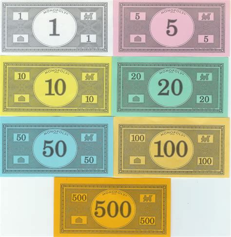 monopoly money colors monopoly money templates free invitation templates