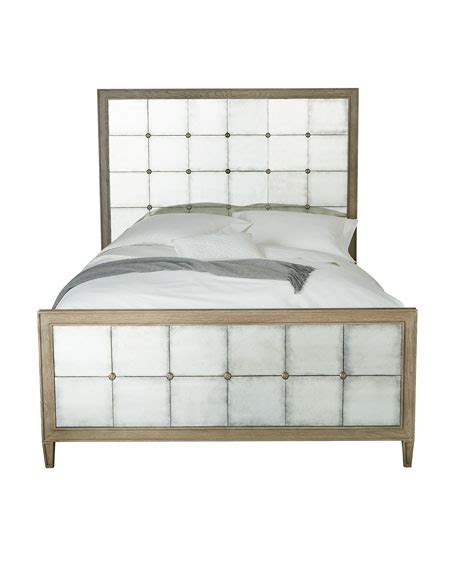 mirrored king bed bernhardt marisala mirrored king bed
