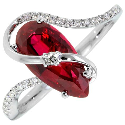 Ruby Ring by Ruby Ring Ruby Ring Created Diamonds