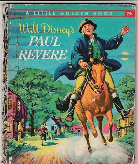 a picture book of paul revere vintage walt disney s paul revere golden book 1957