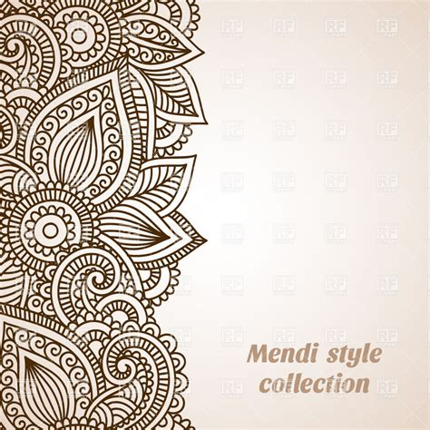 mendi style background indian tracery royalty free indian arabesque vector joy studio design gallery best