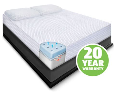 Huntington Home Memory Foam Mattress aldi us huntington home size 10 quot memory foam mattress