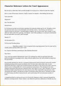 7 character witness letter sample paradochart