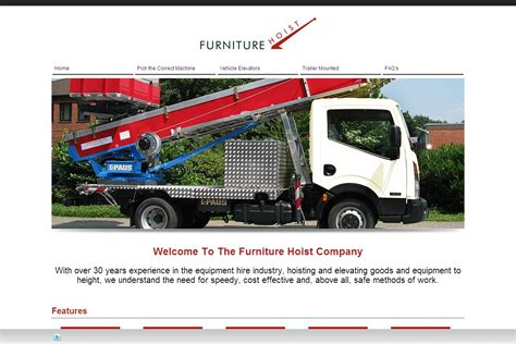 Furniture Hoist by Welcome The Furniture Hoist Company