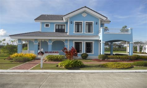 savannah style homes model house camella homes philippines camella homes