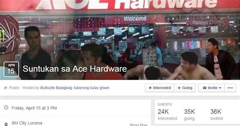 ace hardware one belpark quot suntukan sa ace hardware quot puzzles netizens who s going