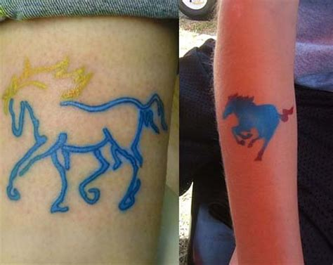 blue horseshoe tattoo hton blue tattoos tattoos designs ideas meaning