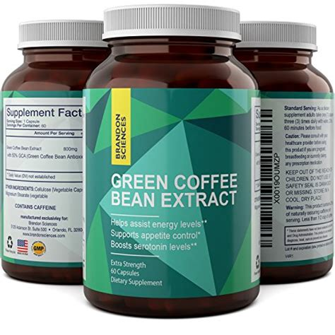 Green Coffee Bean Extract Burner antioxidant green coffee bean strength