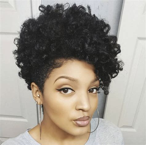 tapper curly haircut styles gorgeous twist out on a tapered cut twists