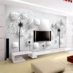 Elegant Wall Murals scenery wall mural art room decor club bedroom tv background wall