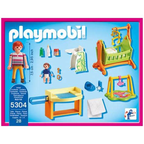 playmobil chambre enfant chambre de b 233 b 233 playmobil 5304 224 11 99 sur pogioshop
