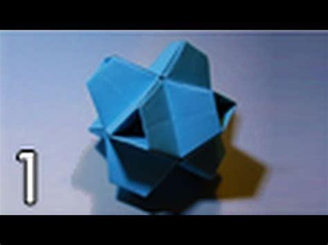 Stellated Octahedron Origami - origami truncated stellated octahedron folding