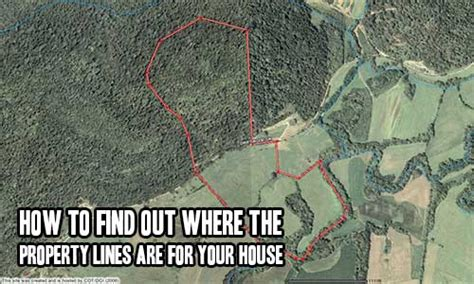 where to buy houses how to find out where the property lines are for your house shtf prepping
