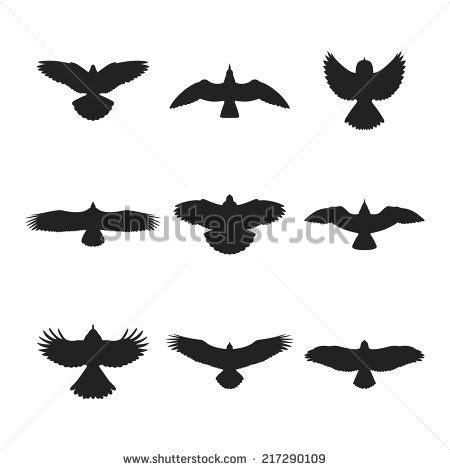 25 Trending Bird Silhouette Tattoos Ideas On Pinterest Bird Silhouette Shoulder