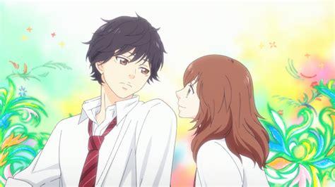 imagenes de anime love kiss all aboard the ao haru ride myanimelist net