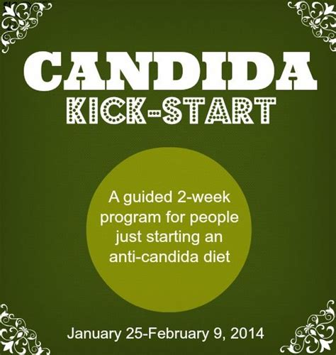 Kick Starting A Diet With Detox by Candida Kick Start Program To Help You Through Those