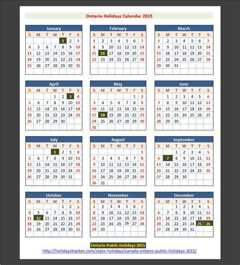 Printable Calendar 2016 Ontario | printable calendar 2016 canadian ontario holidays