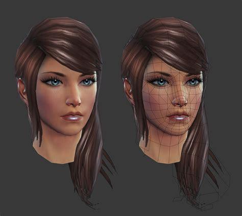 circular heads and high cheekbones rift eth female head by hazardousarts on deviantart